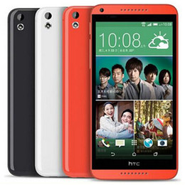 desire phones Canada - Refurbished Original HTC Desire 816 5.5 inch Quad Core 1.5GB RAM 8GB ROM 13MP 3G Unlocked Android Smart Mobile Phone Free DHL 10pcs