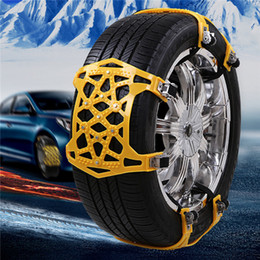 Wheeled Vehicle Australia - Universal Vehicles Thickened Widened Non-slip Wheel Snow Chain Winter Truck Car Snow Tire Chain Anti-skid Belt Car Accessories