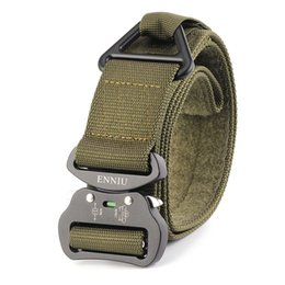 Quick Release Fasteners Australia - Outdoor Heavy Duty Tactical Belt 2019 Quick Release Hunting Tactical Belt with Fastener Tape for Camping Hiking Climbing #72453