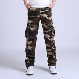 $enCountryForm.capitalKeyWord UK - 2019 Cargo Tactical Loose Camouflage Army Military Men Cotton Trousers Man Pantalon Homme Combat Pants Size 42 C19041303