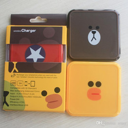 $enCountryForm.capitalKeyWord Australia - Cartoon Design Wireless Chargers For Luxury Qi Universal Charger Pad Mini For Galaxy S6 S7 Htc Cd005