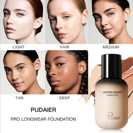 Oil Oily Skin Australia - 2019 new lasting Makeup face body Foundation Matte Oil-contral Liquid foundation BB CREAM CC CREAM 40 Colors Concealer 40ML DHL free