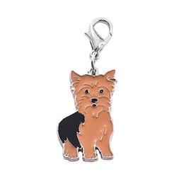 $enCountryForm.capitalKeyWord UK - Pet Collar Pet Identity Card For Yorkshire Terrier Cute Dog Carrier Collars Harnesses Leads Supplies