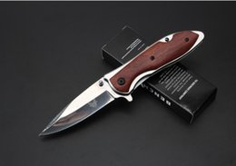 benchmade knives NZ - benchmade DA76 knife Stainless Steel Manual Release Mini pocket Folding Knife Line Locker Pocket Cutter camping knife a770-a771