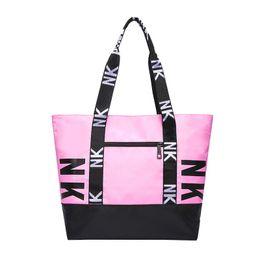 Chinese  Latest Brand designer handbags purses for Women Tote Pink Nylon Designer handbags Ladies Purse Sac a main borse manufacturers