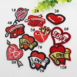 Funny bags For kids online shopping - Lip Cloth Paste Funny Colorful Lips Cloth Patch for Kid Sew Applique DIY Garment bag Shoes Accessories KKA6960
