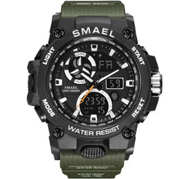 $enCountryForm.capitalKeyWord Australia - DHL Wholesale Sport Watch Men SMAEL Brand Toy Mens Watches Military Army S Shock 50m Waterproof Wristwatches 8011 Fashion Men Watches Sport