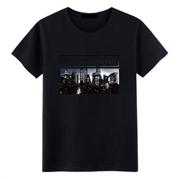 magazines printing UK - Men's Clothing In Summer Men's Short-sleeved T-shirt Crew Neck Printed Casual Shirt Self-cultivation Magazine Size S-3XL