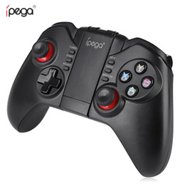 $enCountryForm.capitalKeyWord Australia - iPega Wireless Game Pad Bluetooth 3.0 Controller Pro Gaming Player Joystick for iOS PC Smartphone PG-9068 for Xiaomi Free Shipping BA