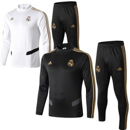 madrid jerseys long sleeves NZ - Newest 19 20 Real Madrid jacket Bell Hazard long sleeve RMA tracksuits soccer jersey Jovic Mendy T-shirt benzema Modric football shirt