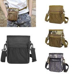 $enCountryForm.capitalKeyWord Australia - Hunting Magazine Dump Drop Pouch Waist Pack Organizer EDC Waist Belt Bag Shoulder Strap Camping Ultra-light Range Bag