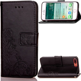 Card Inserts Australia - Cell Phone Cases for iPhone 7 8 PLUS mobile phone bag sleeve creative insert card covers the cover Card Pocket