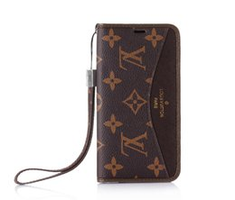 $enCountryForm.capitalKeyWord Australia - Monogram Phone Cases Flip Wallet Leather Bumper Phone Case For Iphone XS Max XR X 8 7 6 Plus Dust-proof Cellphone Back Cover With Card Slot