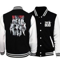 Walking Dead Jacket Australia - Bomber Jacket Streetwear The Walking Dead Men Jacket 2019 Hot Spring Jackets Hoodies Coat Fashion Fitness Men's Jacket