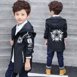 $enCountryForm.capitalKeyWord Australia - Boy's Clothing 2019 Spring Burst Fashion Clothing in The Long Section of The Big Child Zipper Letter Jacket Free Freight