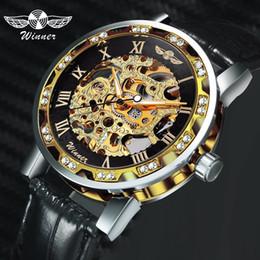 $enCountryForm.capitalKeyWord Australia - Winner Royal Black Customized Brand Logo Box Retail Drop Shipping Wholesale Men Watch Packaging Box Wristwatch Gift Box For Vip J190706