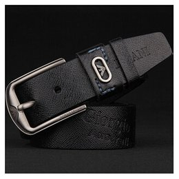 high end leather belt Canada - One Top leather belts for both men and women fashion atmosphere high-end belt new style mail-free belt by the brand designer design