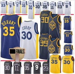2018-19 City Edition 30 Stephen Curry Golden State 35 Kevin Durant 23  Draymond Green 11 Klay Thompson 9 Andre lguodala men jerseys eaa960d4d