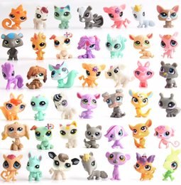 $enCountryForm.capitalKeyWord Australia - Magic eggs cartoon toys Random Pick Mini Littlest Pet Shop LPS Doll Animal Cartoon Cat Dog Animal Mini 1.0in Action Figures Kids Toys