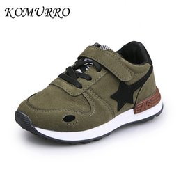 $enCountryForm.capitalKeyWord Australia - Boys Sneakers Spring Children Shoes Pu Leather Fashion Star Shoes For Kids Girls Hook & Loop Spring Children Boys Casual Shoes Y190525
