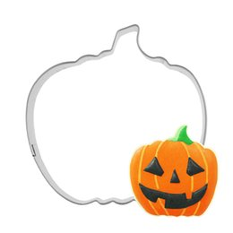 $enCountryForm.capitalKeyWord Australia - Halloween Stainless Steel Cookie Cutter Pumpkin Biscuit Molds Cake Decorating Toolds