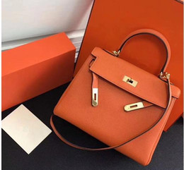 $enCountryForm.capitalKeyWord Australia - 35CM 30CM 25CM 2018 Big Brand Totes Shoulder bags With Lock luxury women Lady Cowhide Genuine leather Fashion Handbag Factory wholesale