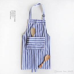 Home 2019selling All Over The Worldcotton And Linen Apron Fashion Contracted Oil Proof Kitchen Apron Adult Sleeveless Household Apron
