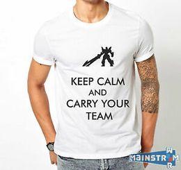 League Legends Lol Shirt Australia - T-SHIRT MAGLIETTA LEAGUE OF LEGENDS LOL CARRY YOUR TEAM LUX JARVAN FIZZ