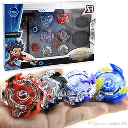 new beyblade sets Australia - New 4Pcs Set B804 Beyblade Burst Toys Arena Spinning Top fighting gyro Metal Fight Beyblades Fusion Children Gifts Classic Toys