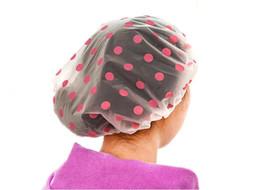 $enCountryForm.capitalKeyWord UK - Shower Bath Cap Women Hat Saunas Lace Elastic Band Cap Spa Kids Hair Lady Bathroom Waterproof Reusable