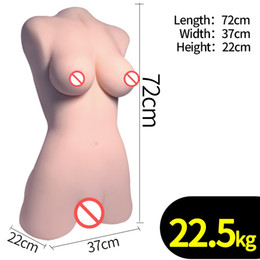 Free sex liFe doll online shopping - Factory KG High quality Solid TPE cm long life size sex doll with Breast Vagina Masturbation sex toys for men Chinami