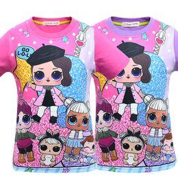 81590cc0d7be7 3d t shirts kids girls online shopping - T shirt D color Printing New  Cartoon Girls