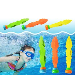 seaside toys NZ - TELOTUNY 3Pcs set Summer Beach Sand Play Water Diving Seaweed Toys Kids Seaside Play Toy Children Tools Z0524