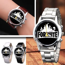 $enCountryForm.capitalKeyWord Australia - new Game Fort night Cartoon quartz Watch New Fashion Teenage Party Wrist Watches Electronic watches Jewelry for Kids Christmas Gift