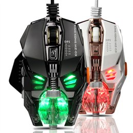 block wiring NZ - New Product Gaming Mouse Macro Programming Professional Wired Game Metal Detachable Mouse Free Weight Block Crystal Ball