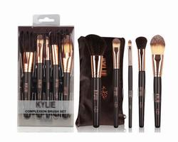 Kylie Cosmetics Makeup Bag Australia - New cosmetics KYLIE spot 5 makeup brush set brush bag beauty tools