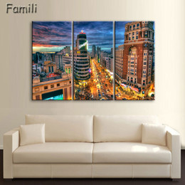 $enCountryForm.capitalKeyWord Australia - 2019Unframed Fashion 3Pcs set House Modern Wall Art HD Picture Canvas Print Canvas Painting For Living Room Picture
