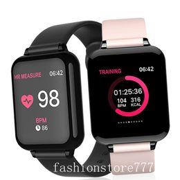 Smart Watch New Smart Watch iPhone Phone Waterproof Sport Smart watch Heart Rate Monitor Blood Pressure Function Woman Man Universal 2020 on Sale