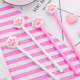 Stationery Australia - 1 Pcs 0.38mm Plastic Ink Creative Gel Pen Cartoon Cat Claw Neutral Pens For School Writing Office Supplies Pen Stationery