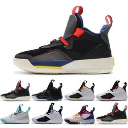 jade shoes Australia - Wholesale Visible Utility 33 33s XXXIII basketball shoes Jade Guo Ailun Future of Flight Utility Blackout Tech Pack mens designer sneakers