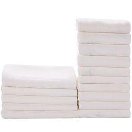 $enCountryForm.capitalKeyWord Australia - Washable Baby cloth Diaper Bamboo Fiber Reusable newbron Kids white Nappy Water Absorption 3 Sizes Changing Pad blanket towel