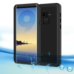 $enCountryForm.capitalKeyWord Australia - For Samsung Galaxy Note 9 Waterproof Case For Samsung Note 9 8 S9 Plus S8 Plus Water Resistant Watertight Full Protect Cover J190629