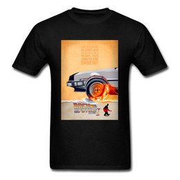 $enCountryForm.capitalKeyWord Australia - Out Time T-shirt Men Back To The Future TShirt 2019 New Marty Delorean Tops & Tees 100% Cotton Moto Biker T Shirt Fiction Movie