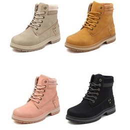 Wholesale 2020 women fashion boots snow martin boot ankle shot for winter triple black chestnut pink womens shoe