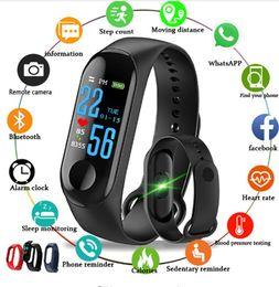 $enCountryForm.capitalKeyWord NZ - M3 Smart Watch Bracelet Fitness Activity Tracker Sports Watch Wireless Bluetooth Wristband Women Kids Aged Mens Man Watch