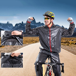 motorcycles rain suit Australia - Motorbike Raincoat Suit Bicycle Running Rainwear Outdoor Sports Raincoat Cycling Rain Outwear Ultra Light Motorcycle Rainwear
