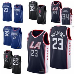 d0f62264a65 23 Lou Williams LA Men s Clippers Fanatics Branded Fast Break Basketball Jersey  Royal Icon Edition