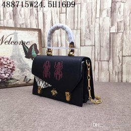 $enCountryForm.capitalKeyWord Australia - Women Luxury Cross body Top quality real leather Snake grain fashion pattern excellent hardware Absolutly Low profit economic bags