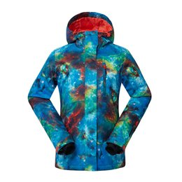 snow clothing jacket Australia - GSOU SNOW New Outdoor Women's Ski Suit Single Double Board Windproof Waterproof Ski Jacket Lady Breathable Warm Cotton Clothes