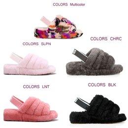2019 nova tendência da moda de alta qualidade único item sandálias e chinelos de veludo chinelos para dormir e mulheres confortáveis venda por atacado